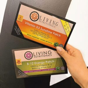 Vitamin B And D Patches!